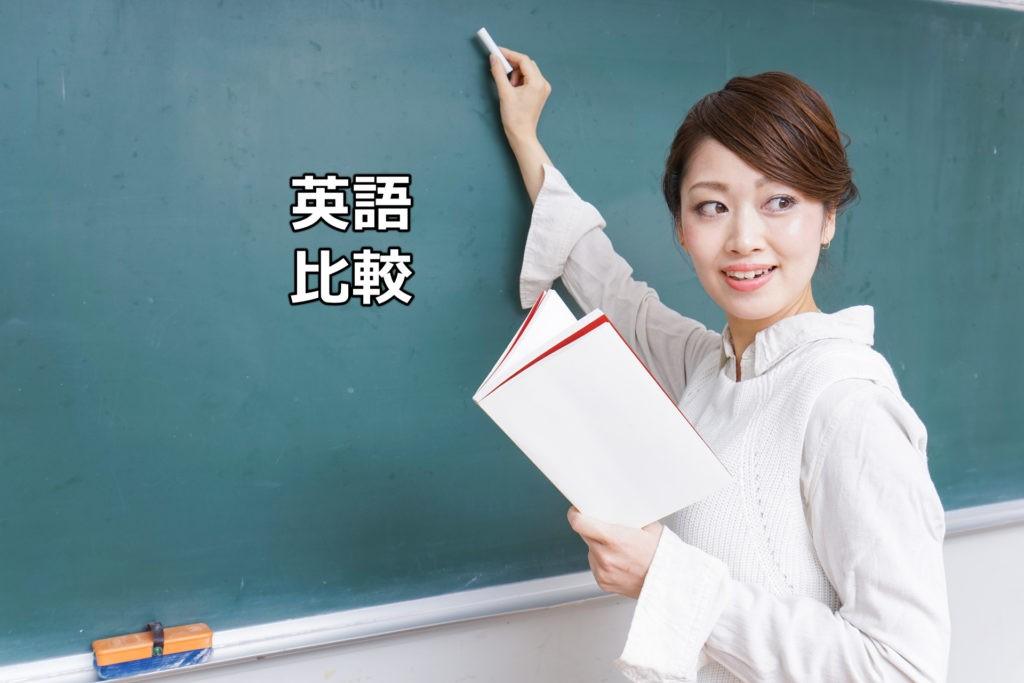英語の比較の勉強方法